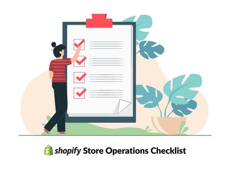 Shopify store operations checklist