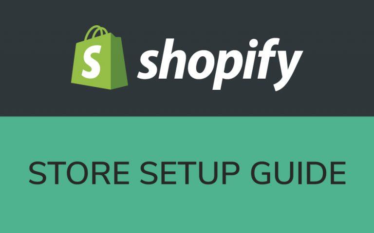 set up a Shopify store