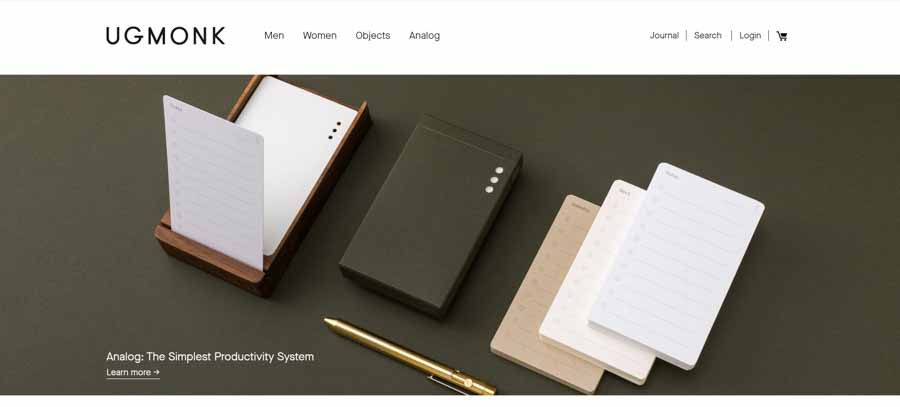 UgMonk - exceptional shopify store