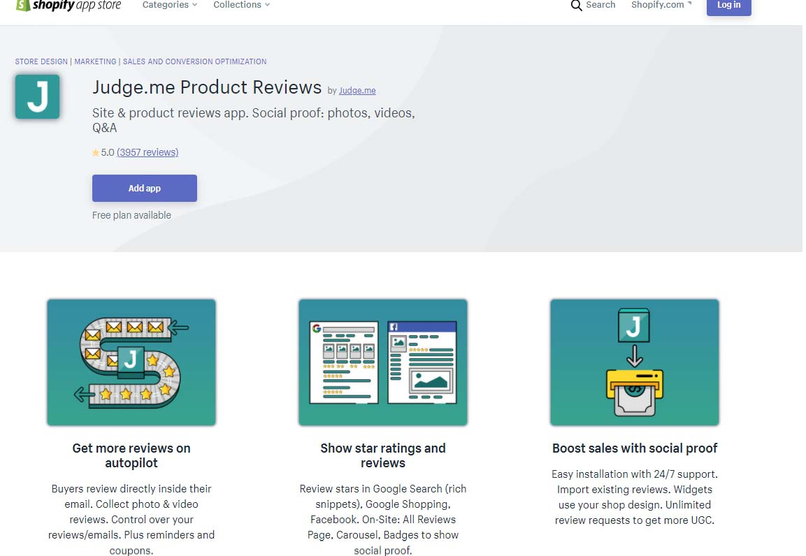 product review shopify app