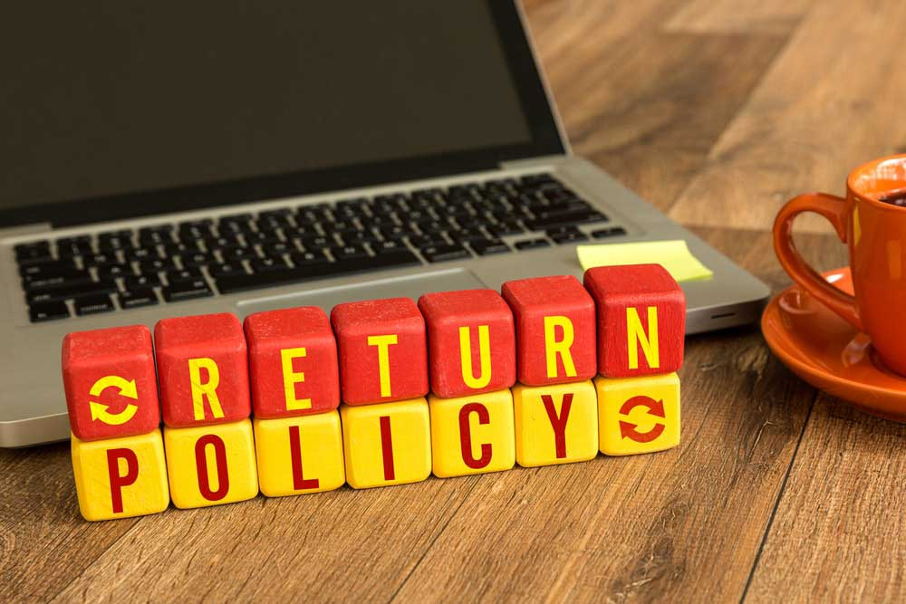 dropshipping business - return policy
