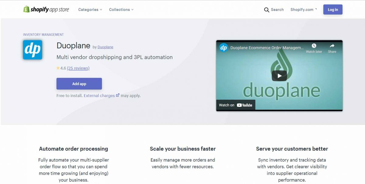 dropshipping business - Duoplane
