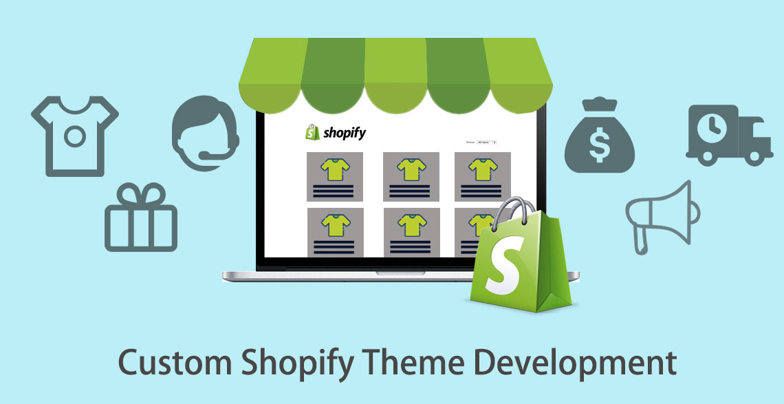 custom Shopify themes