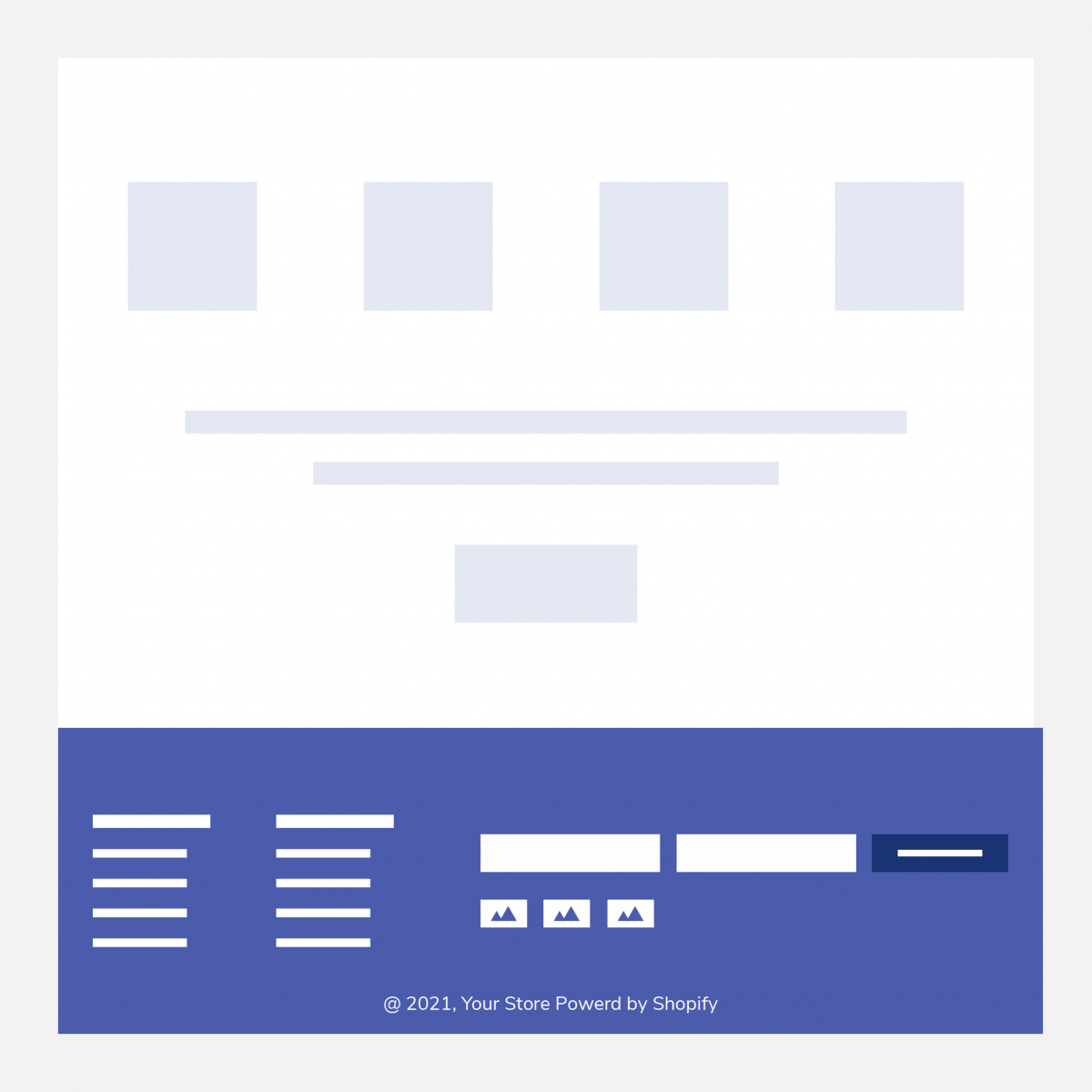 Edit Shopify Footer
