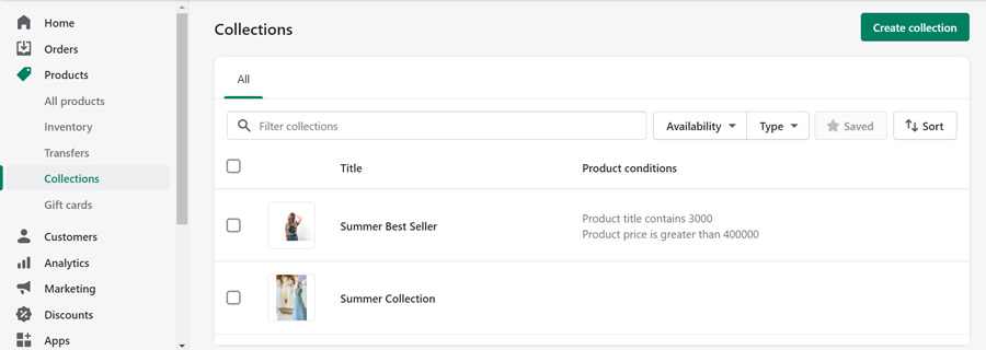 shopify collections-images