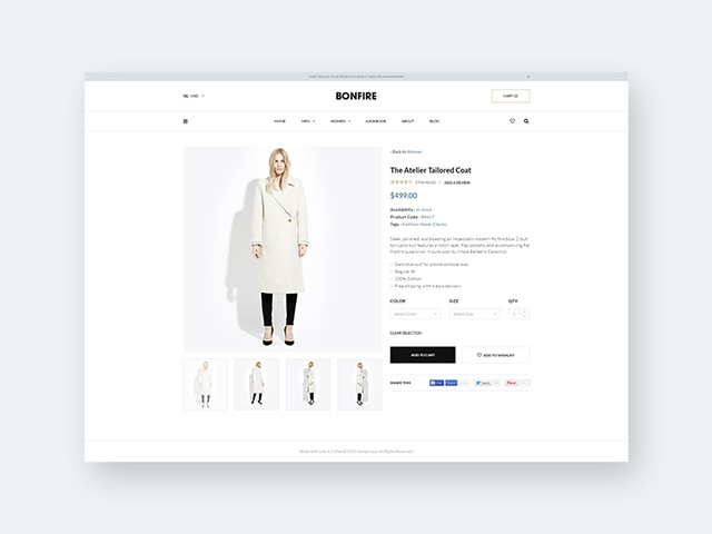 productpage design