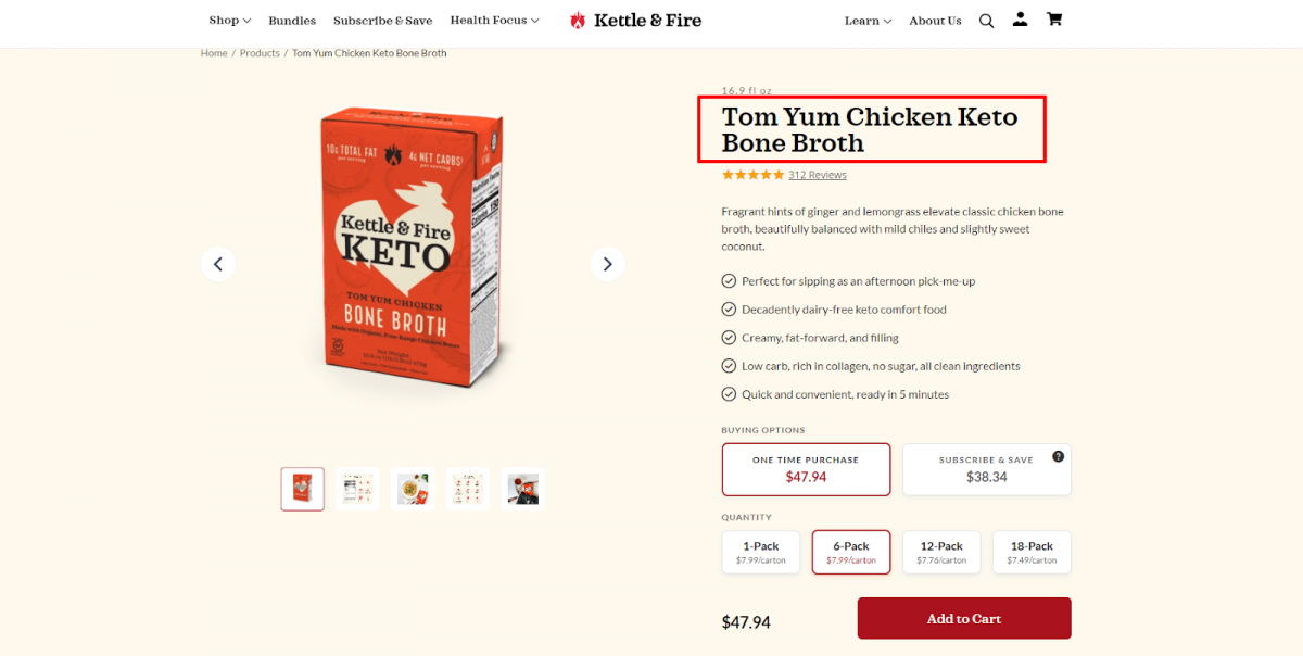 kettleandfire product page