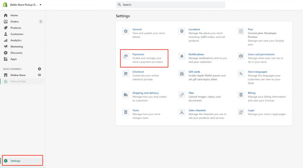 add payment icons on shopify footer