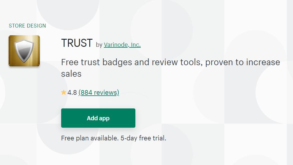 Trust Badges Apps by Varinode